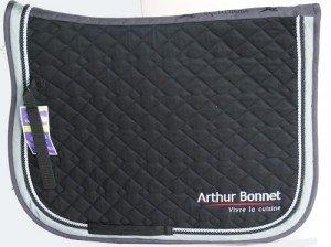 tapis de selle brode-Arthur-Bonnet