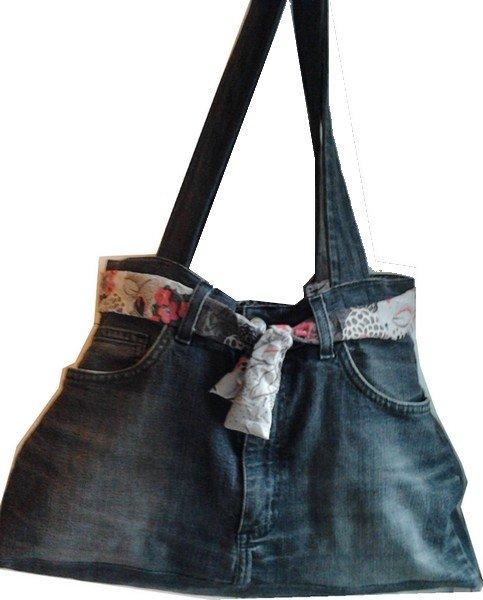 Kr a broderie couture cousettes pour mes choupettes - Faire un sac avec un jean ...