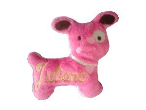 doudou-puppy-fuchsia-personnalise-juliana