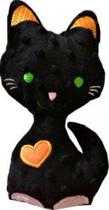 doudou-Mr-chat-personnalise-du-prenom-de-votre-choix_Krea-broderie_noir-orange-devant