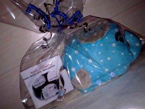 barrillotte-doudou-bouillotte-personnalise-turquoiseme-taupe-emballage-cadeau-et-notice-d-utilisation-2